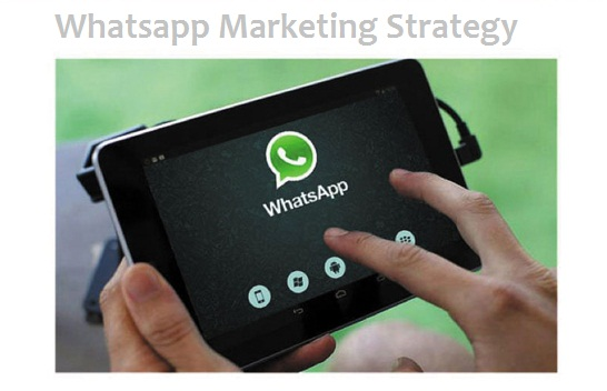Useful and Simple Whatsapp Marketing Strategy