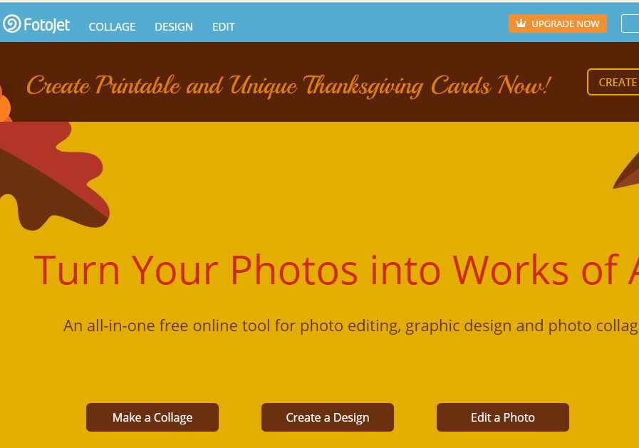 Online Photo Editor FotoJet Review
