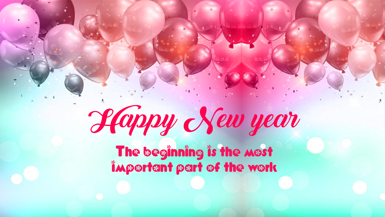 download happy new year greetings card