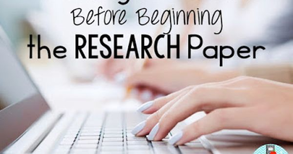 Tip for Research Paper
