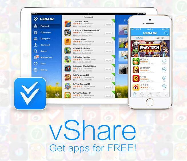 VShare Best App Stores