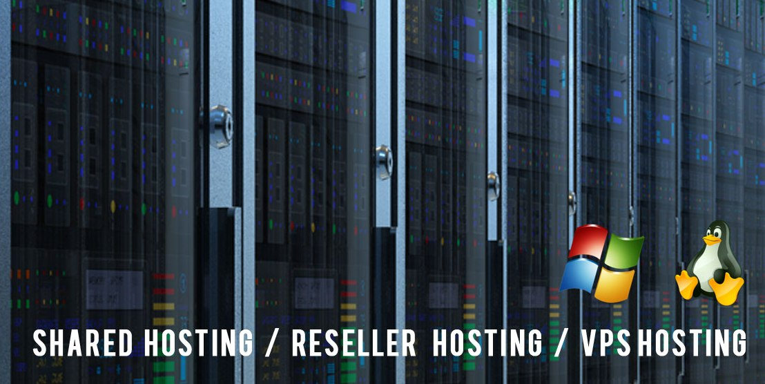 Shared Hosting, Reseller Hosting and VPS Hosting