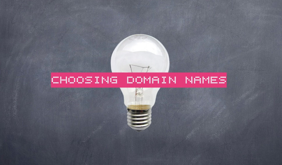 naming your website or blog