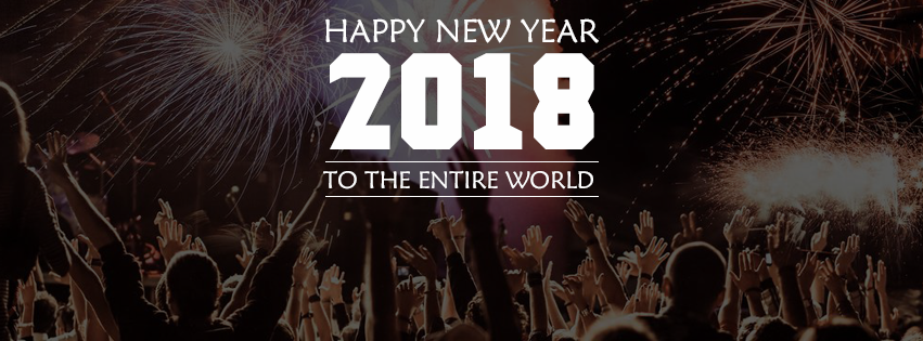 Happy New Year FB Cover Photos for DP Profile Pics 2018