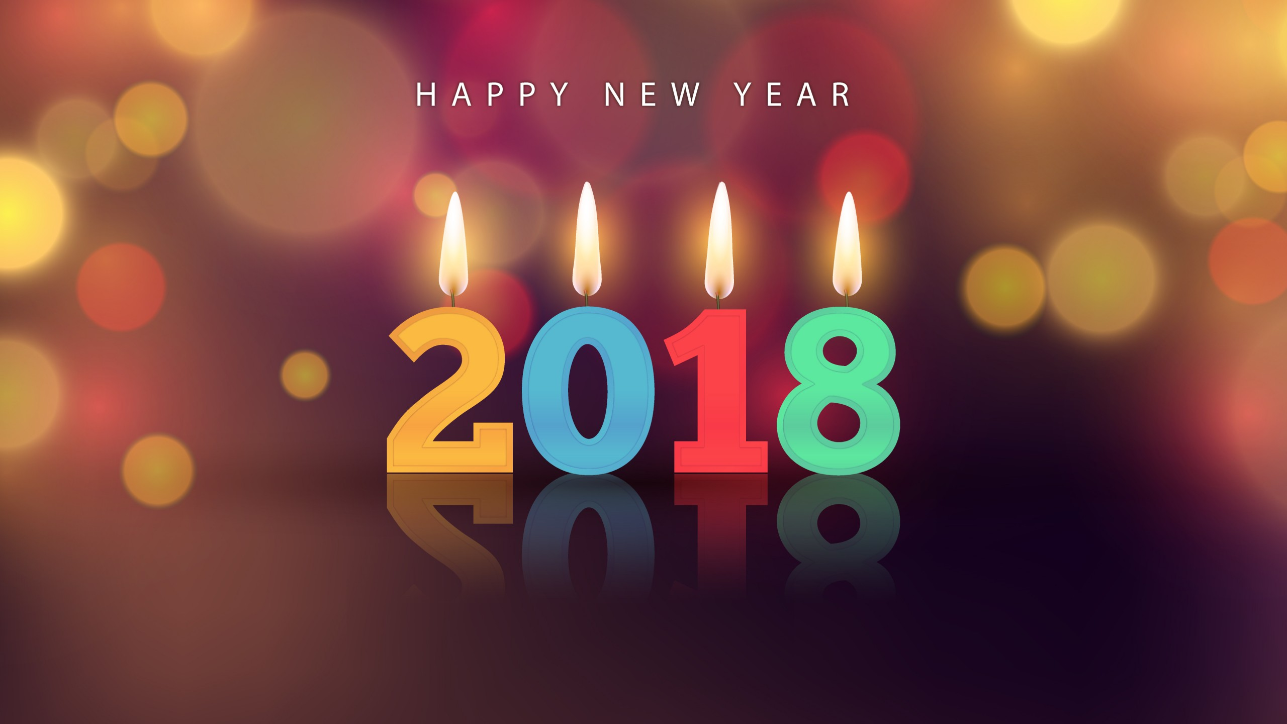 Happy New Year Wallpapers 2018 HD Images - Free Download 1