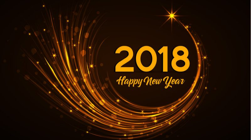 Happy New Year Wallpapers 2018 HD Images - Free Download