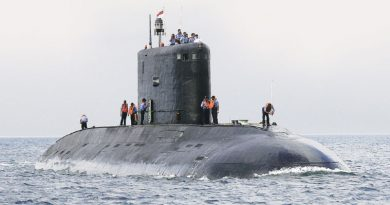 "India's First Convention Diesel-Electric Submarine ""Kalvari"""