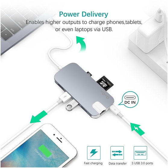 QacQoc GN30H USB C HUB REVIEWS