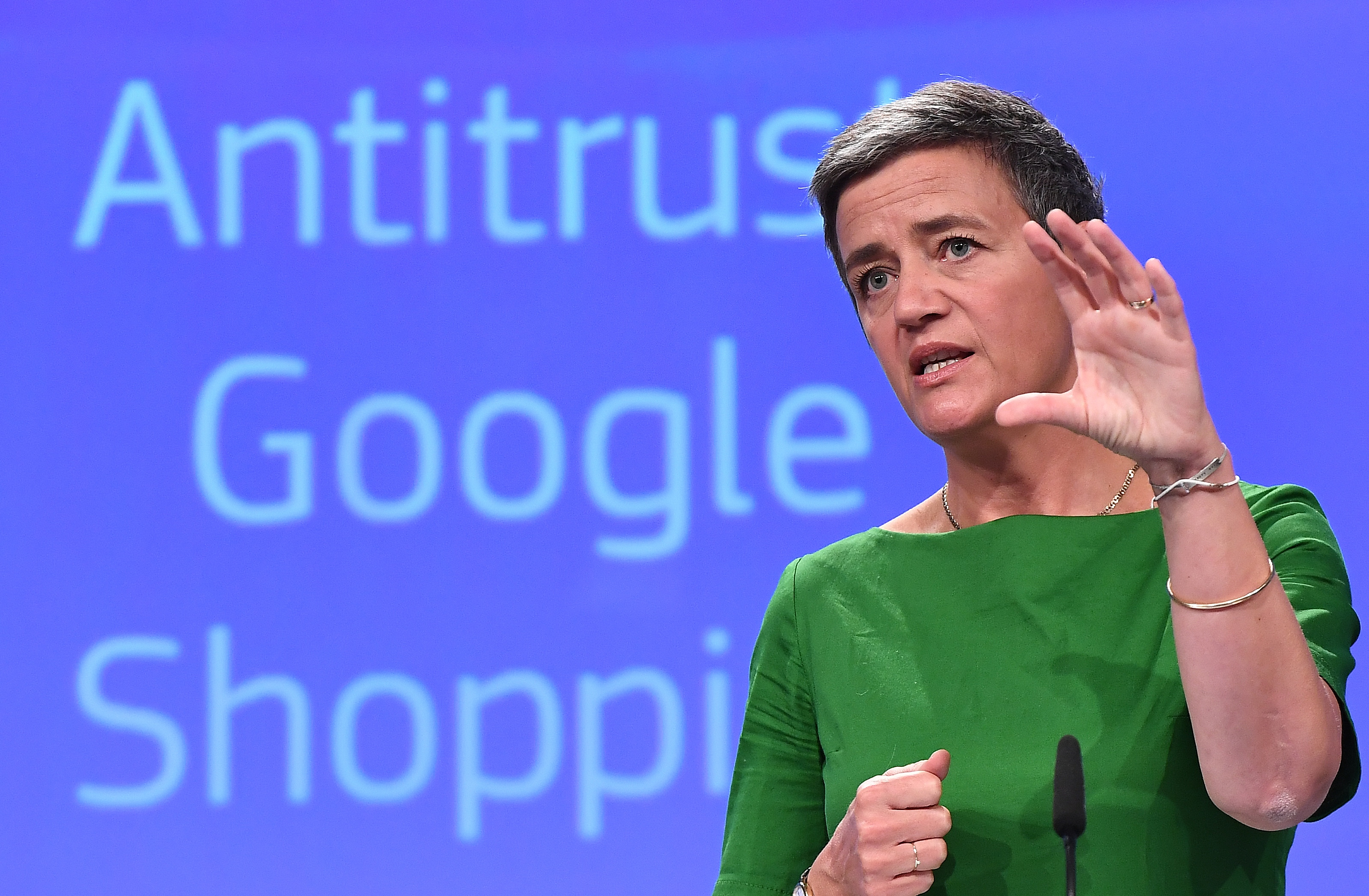 EU Antitrust Chief Defends Probe Of Google