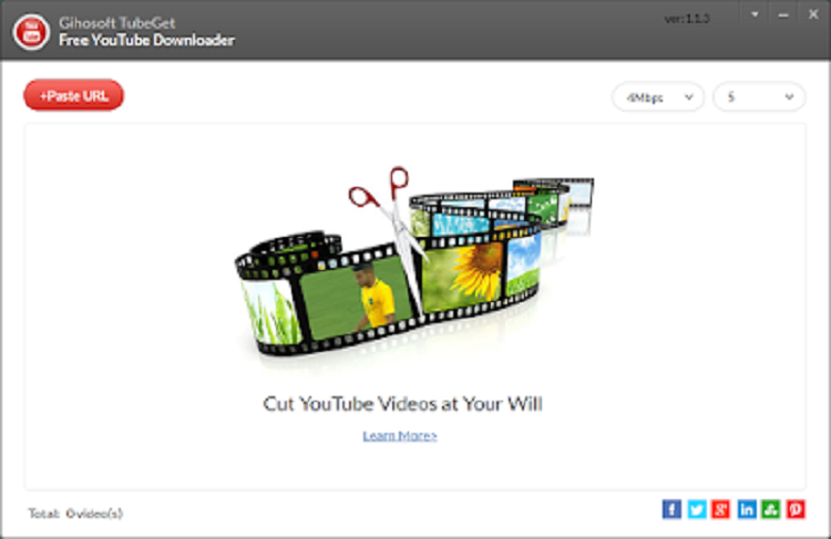 Gihosoft Tubeget – Best Free Youtube Video Downloader