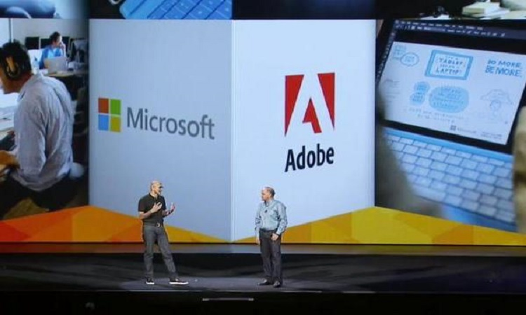 Microsoft And Adobe Expands Cloud Joint Venture Into China