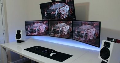 Excellent Gaming Setup