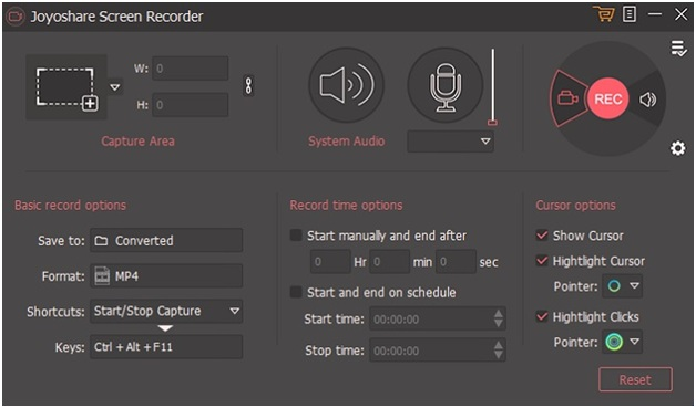 Joyoshare Screen Recorder for Windows