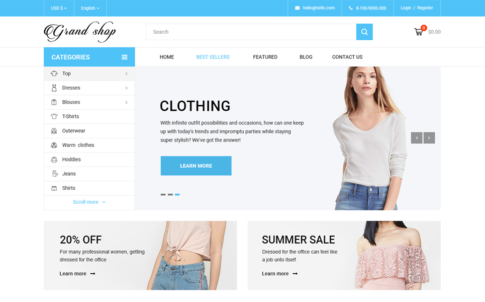 Grand Shop - Shopify Theme