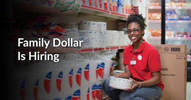 Hired At Family Dollar