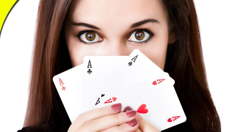 The Cards Of A Rummy Player