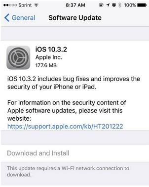Updating to iOS 12