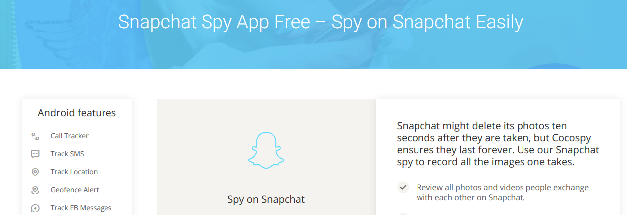 Cocospy Snapchat Spy App Review 2018