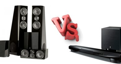 Soundbar vs. Speakers