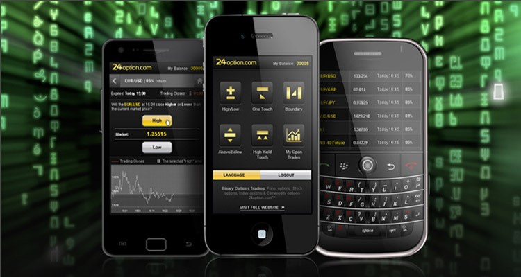 Gain Access To The World's Markets, Mobile Trading With 24 Optionv