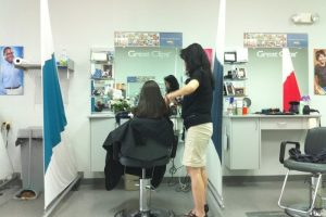 Great Clips saloon