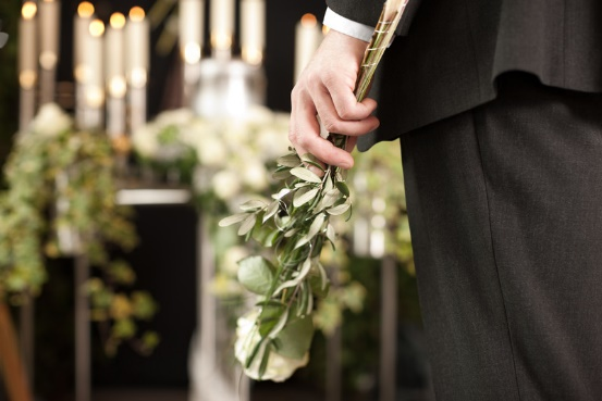 Make burial arrangements