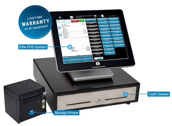 Harbortouch Elite POS System for Bars and Restaurants