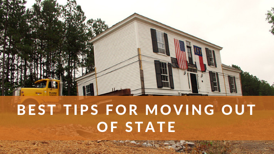 Best Tips For Moving Out Of State