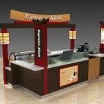 unique mall kiosk design