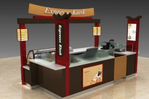 unique mall kiosk design