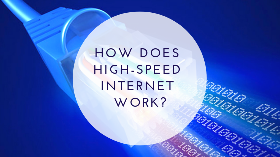 How does High-Speed Internet Work?