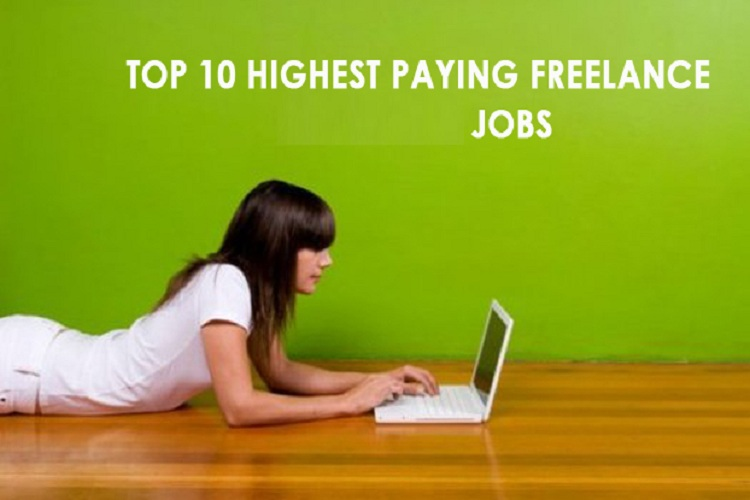 Top 10 Highest Paying Freelance Jobs