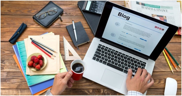 the beginning stages of your blogging