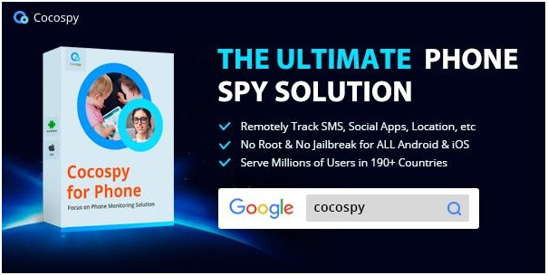 Cocospy is one mobile tracker app