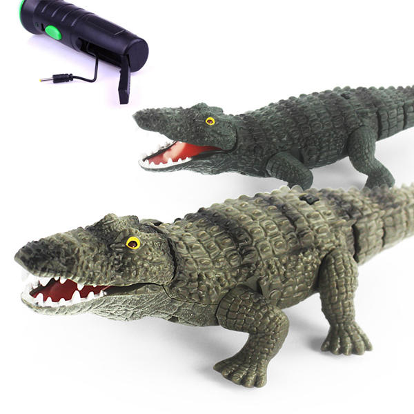 Remote-Control Alligator Head