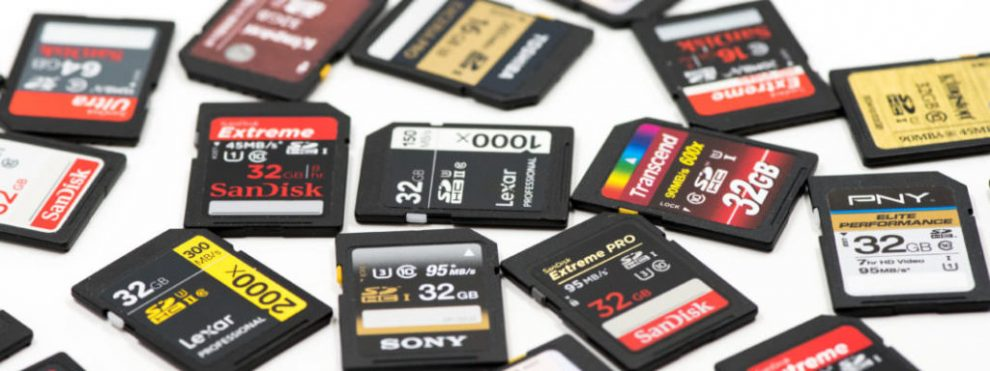 When Buying SD Cards in Bulk