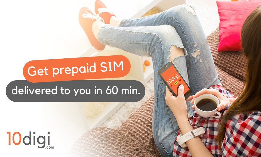 Are Prepaid Plans For You? Now Prepaid SIM Card Comes Home With 10digi