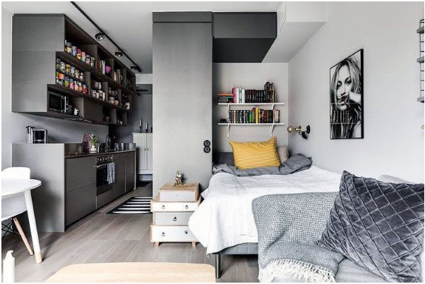 5 Interior Design Ideas Ideal For Small Studio Apartment