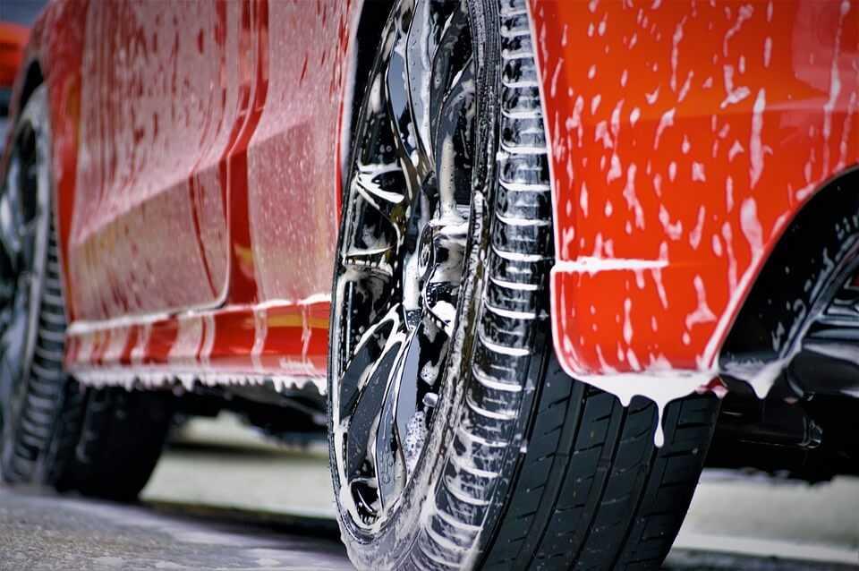 Car Wash Running