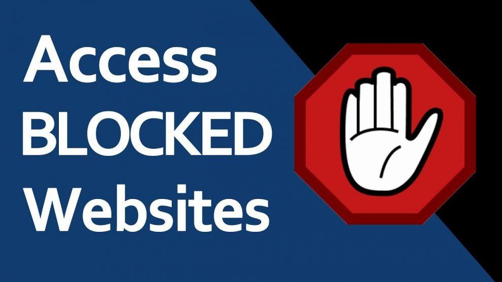Tricks To Access Blocked Websites