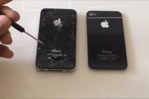Repairing Cracked iPhone Screens