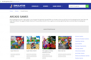 Top 3 Websites To Play Classic Arcade Games Online