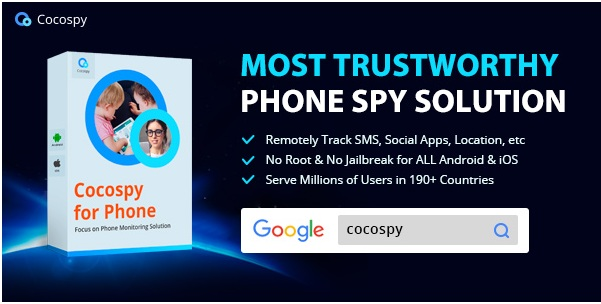 Cocospy hacking apps for iPhone