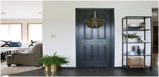 Paint the Door Trim