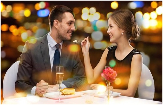 Sometimes, a date in the evening is a way to warm up your love