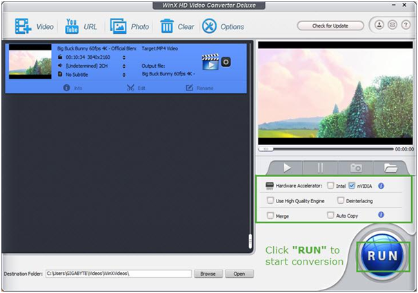Winx HD Video Converter Deluxe Review