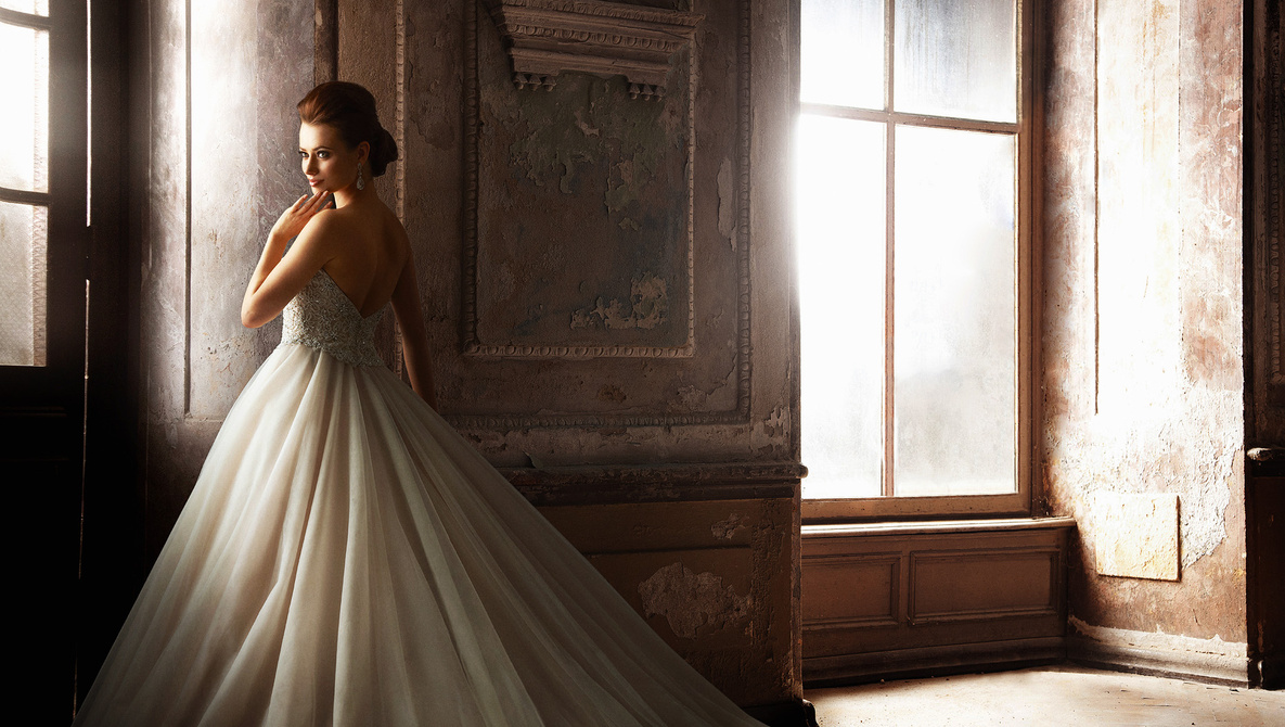Formal wedding dress style
