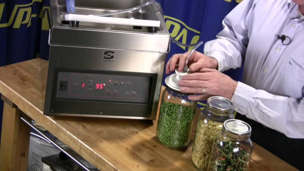 Jar Vacuum Sealer Machine