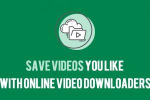 Save Videos