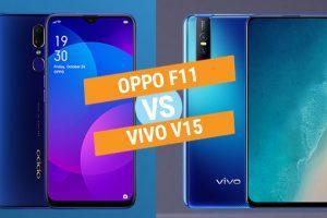 Vivo V15 vs Oppo F11